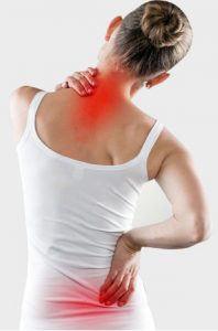 get rid of lower back and shoulder pain